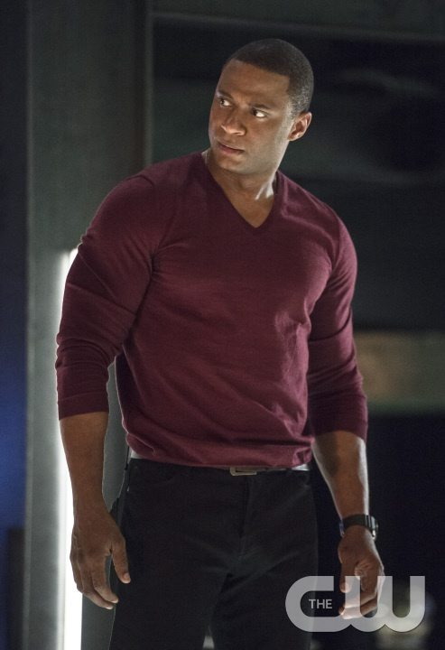 "Arrow -- ""Haunted"" -- Image AR404B_0190b.jpg -- Pictured: David Ramsey as John Diggle -- Photo: Cate Cameron/ The CW -- �© 2015 The CW Network, LLC. All Rights Reserved."