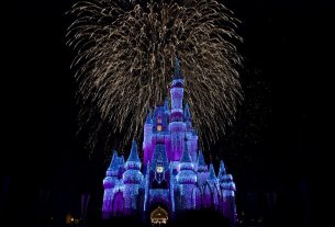 Cinderella's castle is one of the iconic locations of Disney World.
