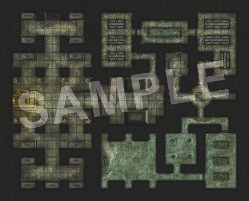 Dungeon Flip Map