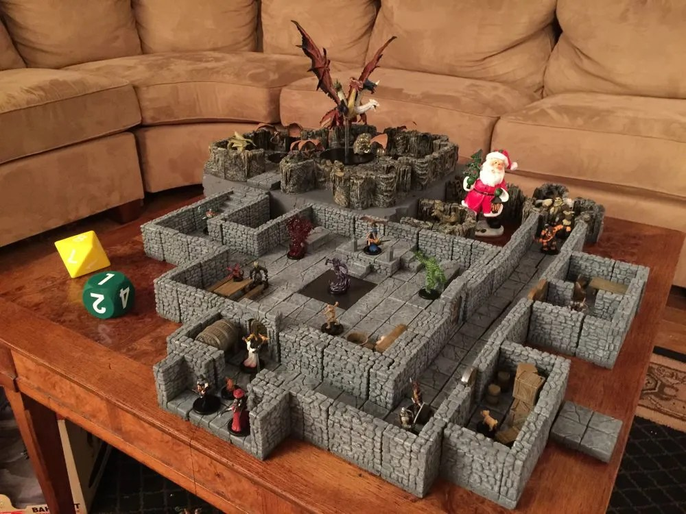 Finished Dungeon.