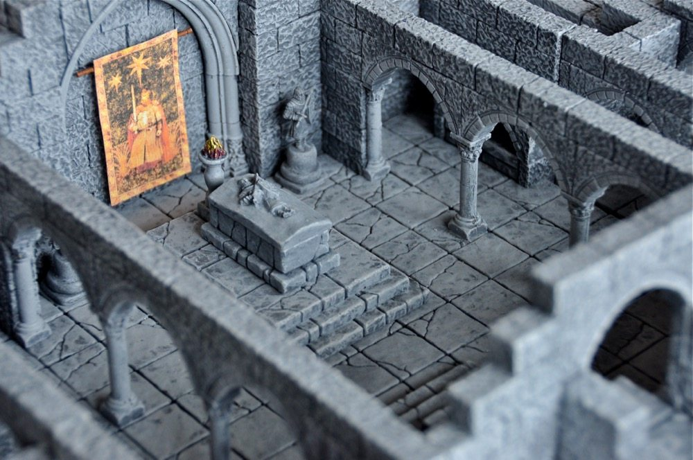 Dungeon Casting Part 1: Creating Dungeons With Hirst Arts
