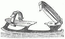 An ice skate! Image: Public Domain