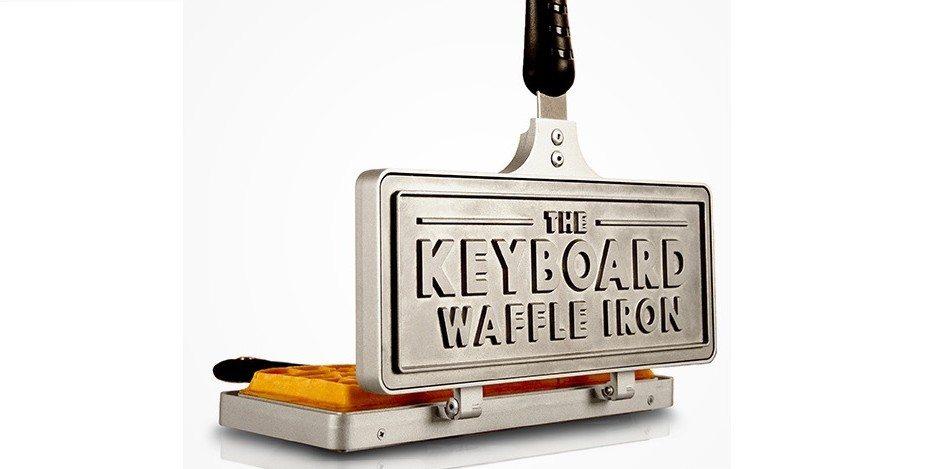 GeekDad Daily Deal: Keyboard Waffle Iron