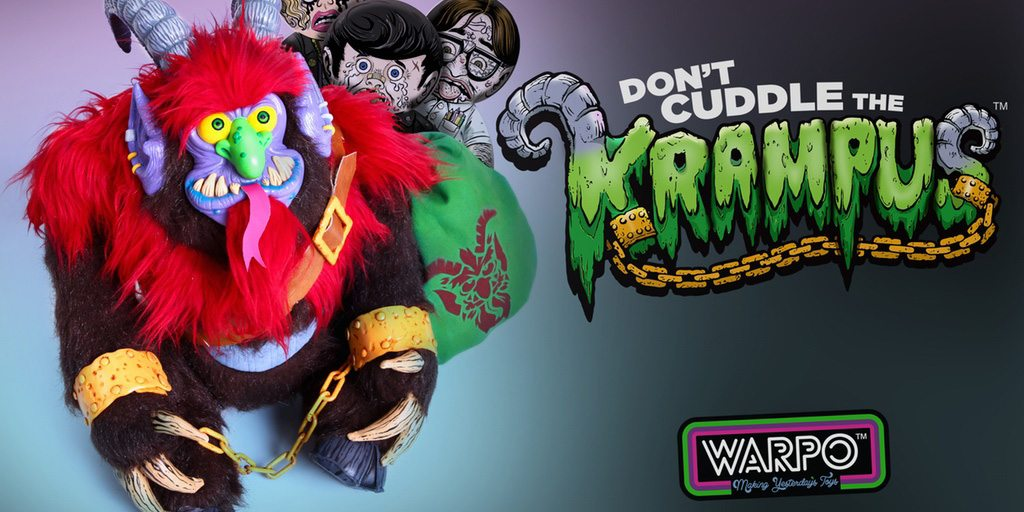 Warpo Is Back: Don't Cuddle the Krampus!
