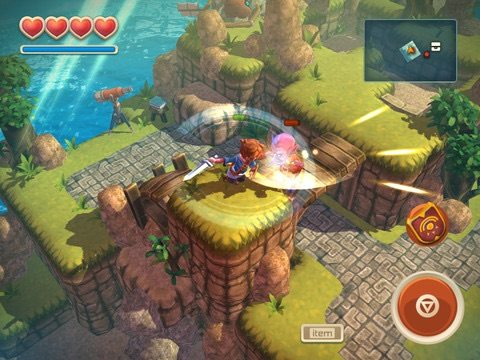 Oceanhorn for Apple TV
