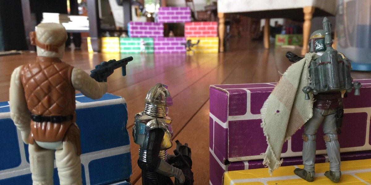 The Rubber Band War Awakens Geekdad