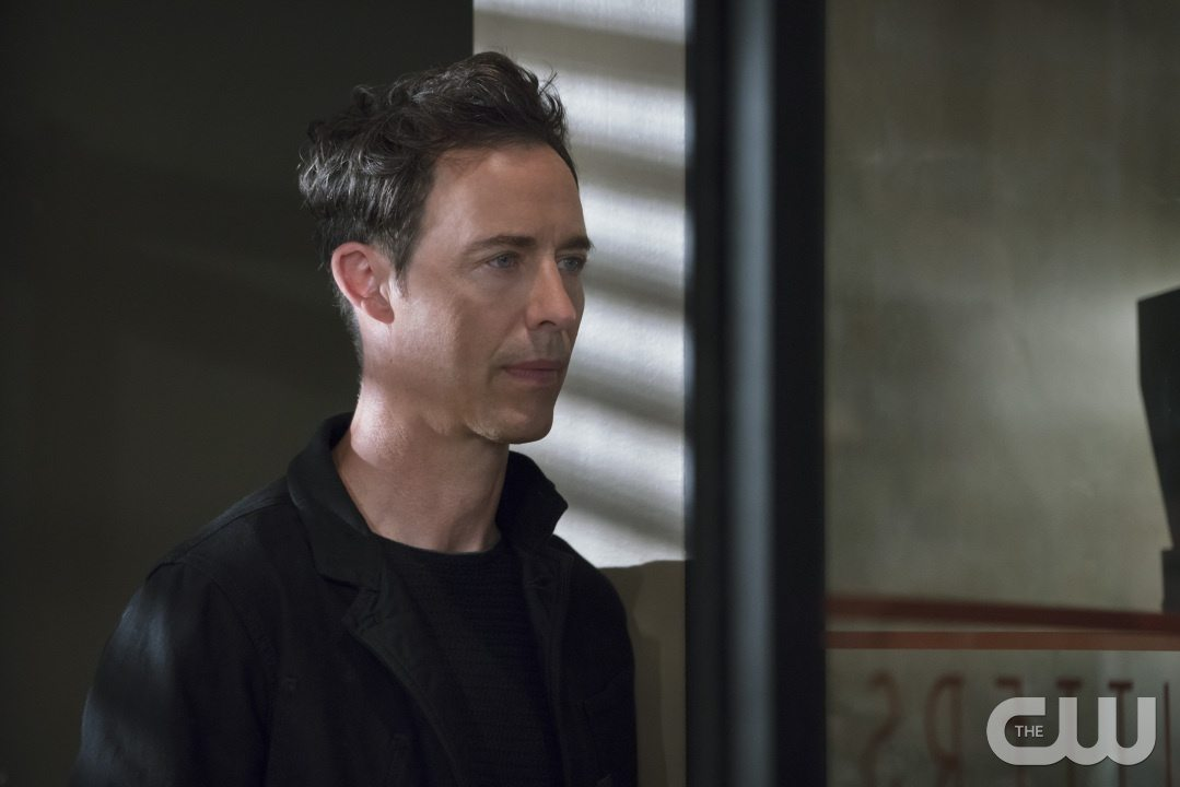 "The Flash -- ""The Darkness and the Light"" -- Image FLA205A_0285b.jpg -- Pictured: Tom Cavanagh as Harrison Wells -- Photo: Katie Yu/The CW -- �© 2015 The CW Network, LLC. All rights reserved."
