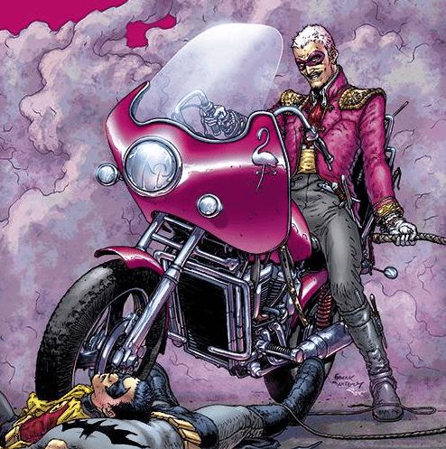 DC Comics version of Eduardo Flamingo (Image via Batman wiki)