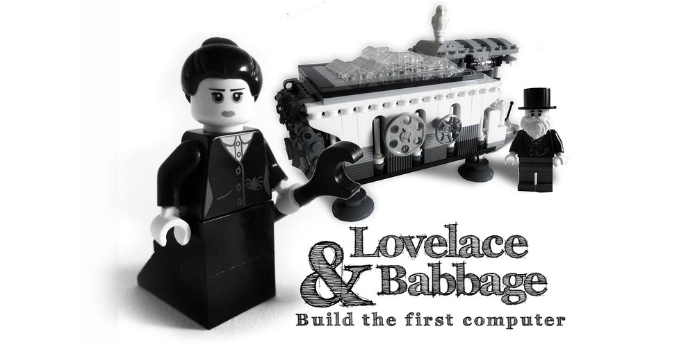 Vote for 'Lovelace & Babbage' at LEGO Ideas