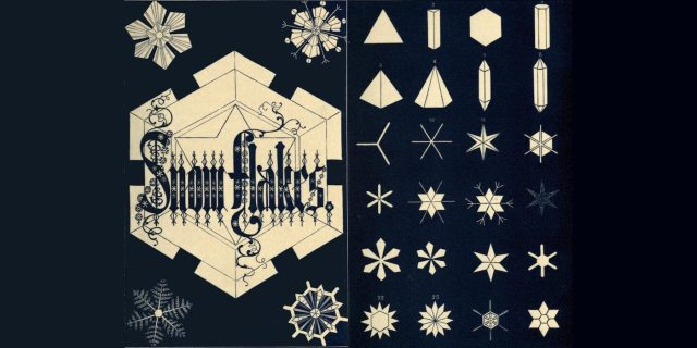 Some of the many different types of snowflakes. Image: Public Domain