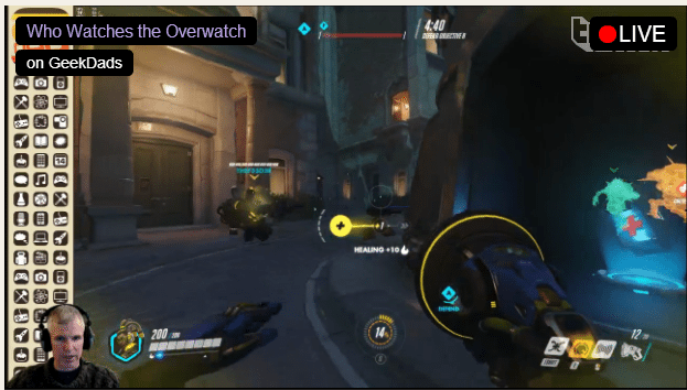 GeekDad Is Livestreaming 'Overwatch' on Twitch
