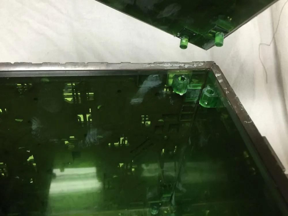 Borg cube corners
