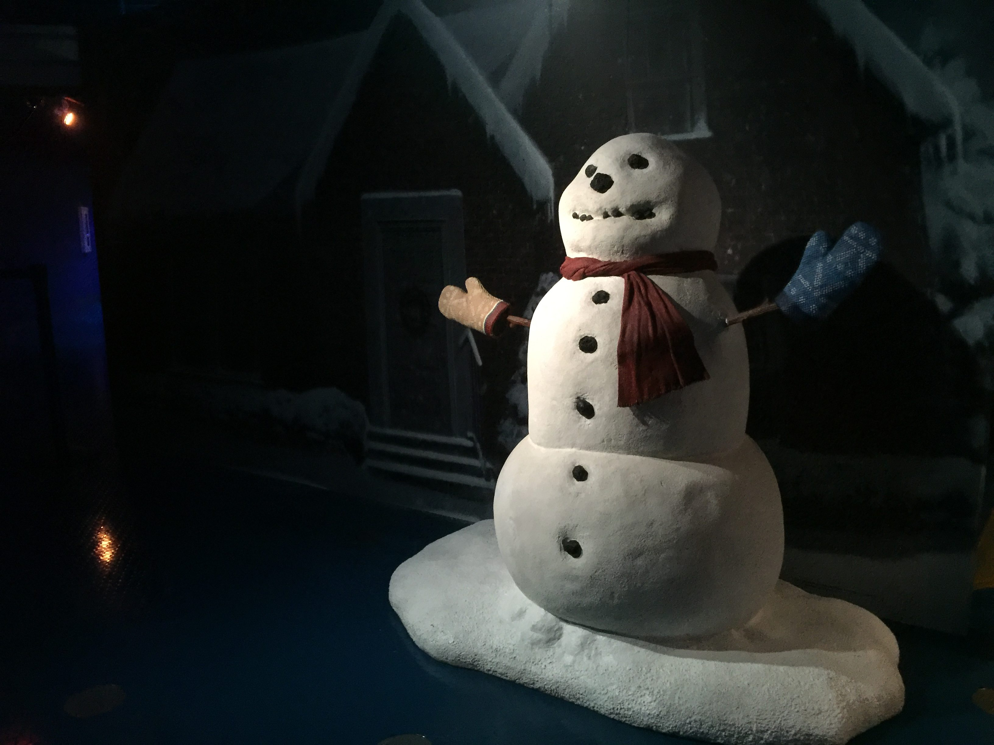 Stepping into the movie at Polar Express  Image: Dakster Sullivan