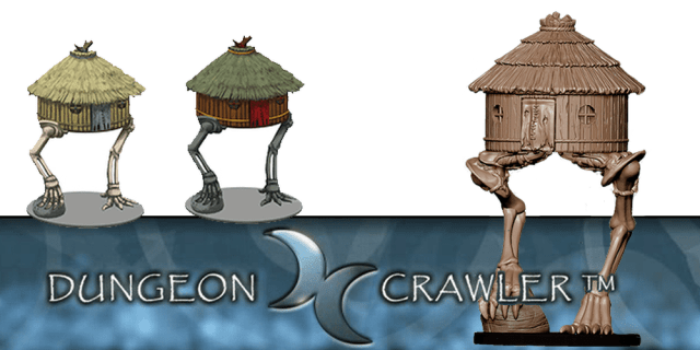 Dungeon Crawler Walking Hut