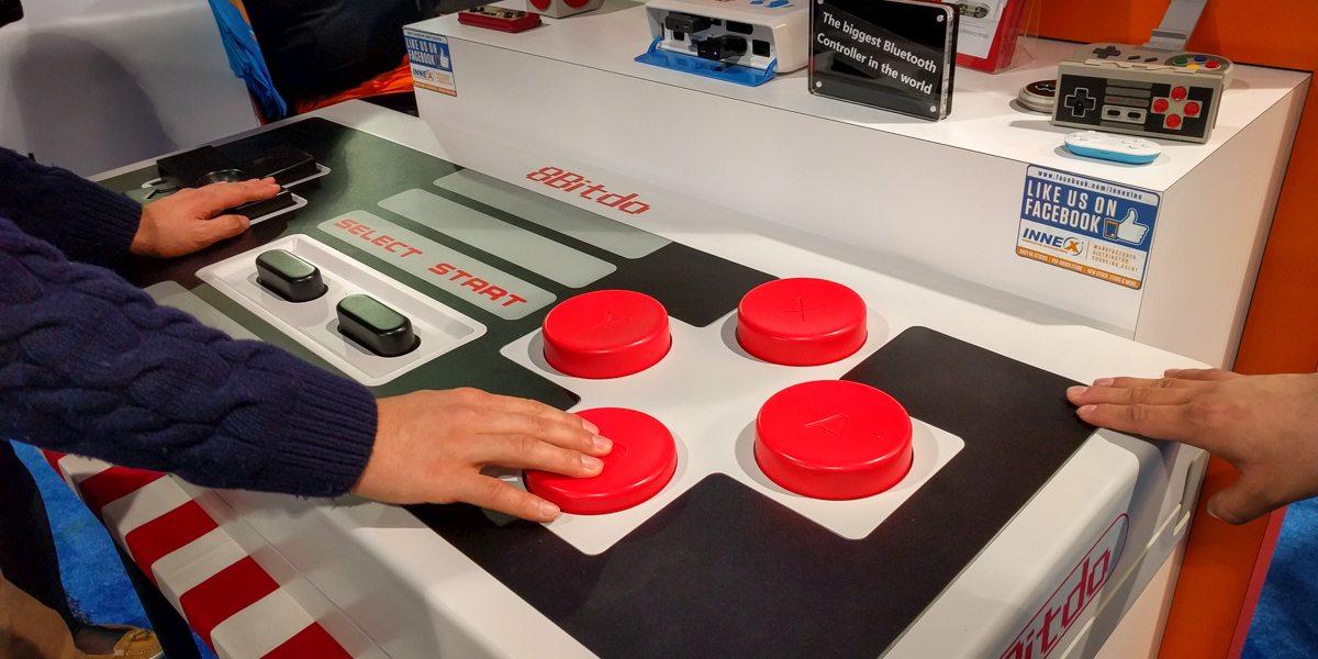 Giant SNES Controller