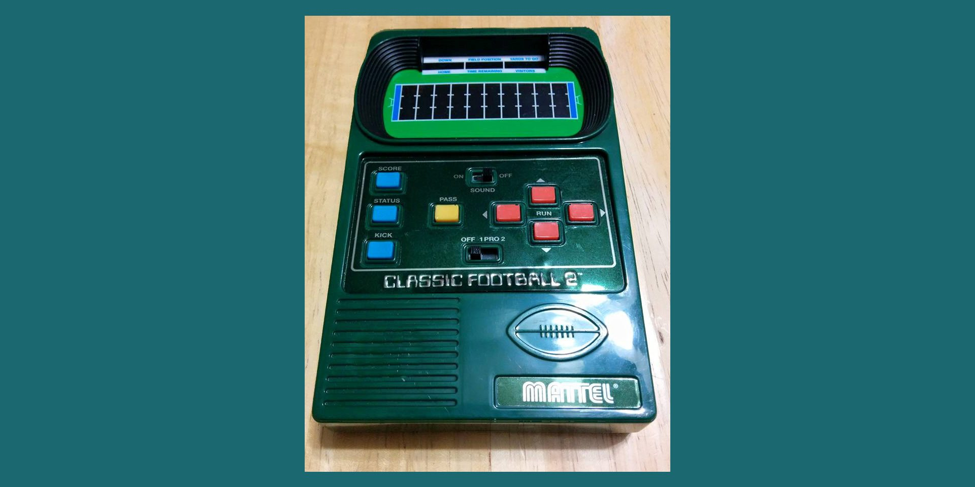 Mattel Football Video Game