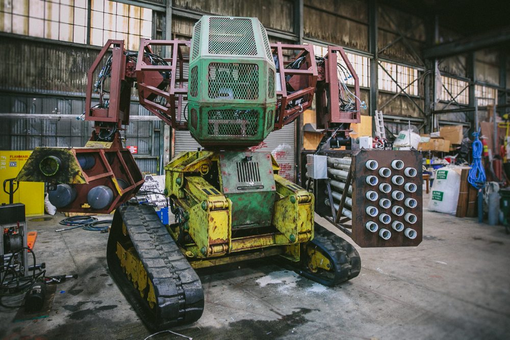 Megabots Update: Shipping a Weaponized Mech Is Hard