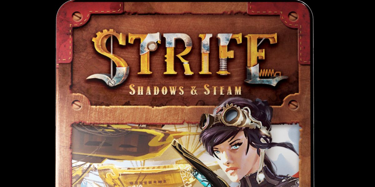 Table for Two Kickstarter Alert: 'Strife: Shadows & Steam'