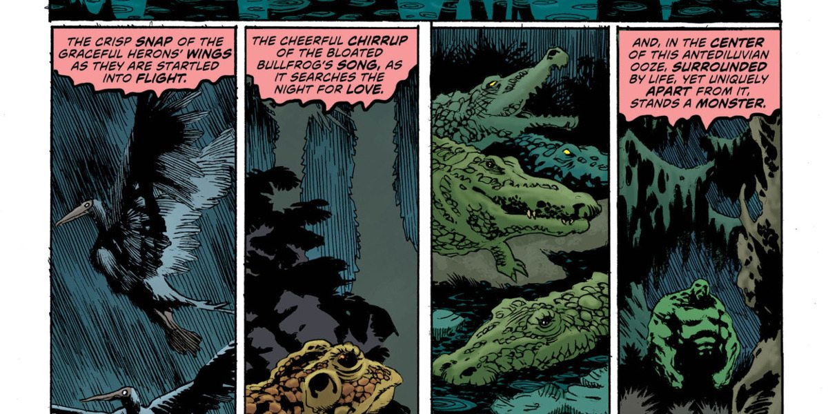Swamp Thing Oozes Into a Zombie Mystery in This Week's DC Comics
