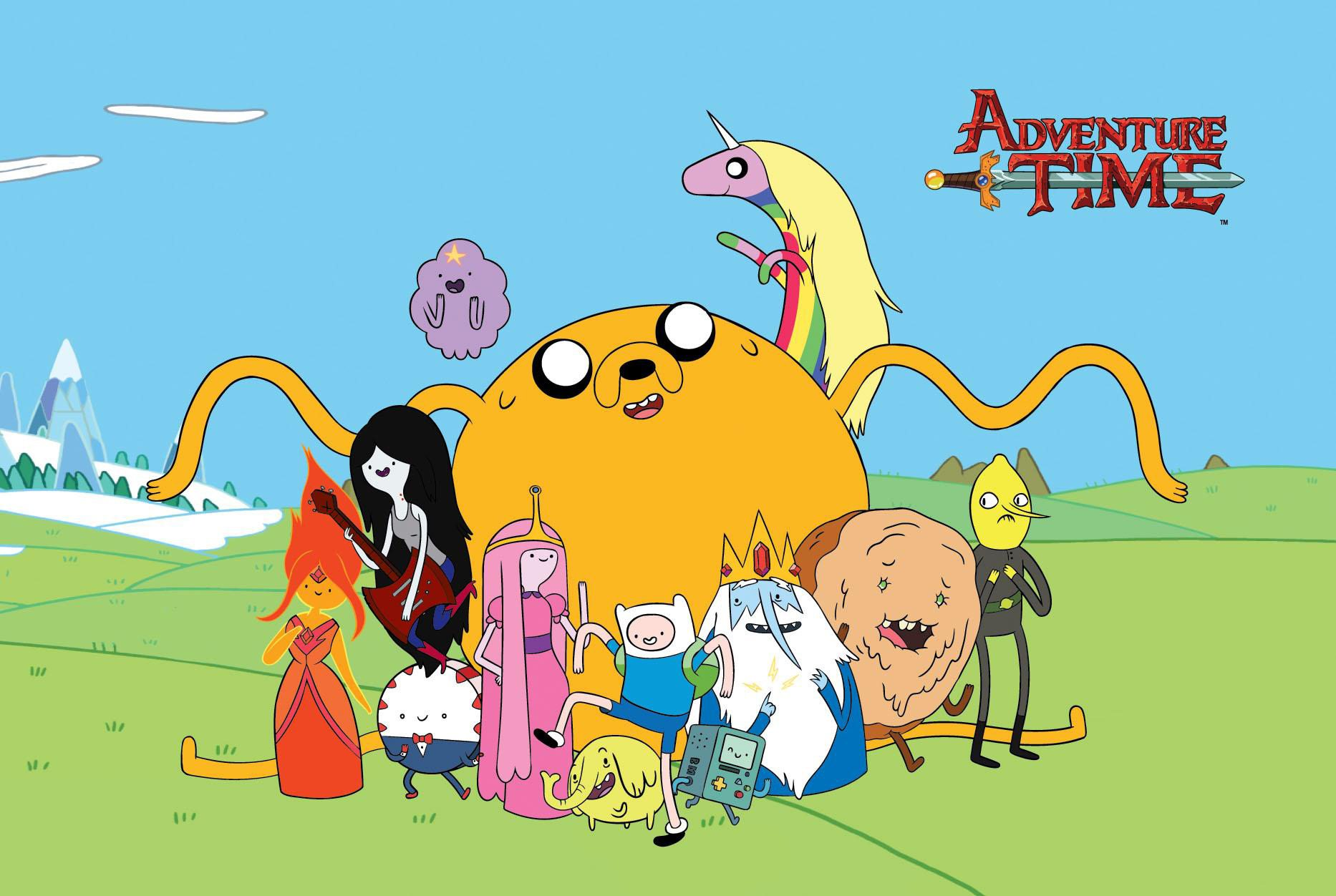 """""""Adventure Time"""" Season 6 is now available to stream on Hulu. (Courtesy of Cartoon Network)"""