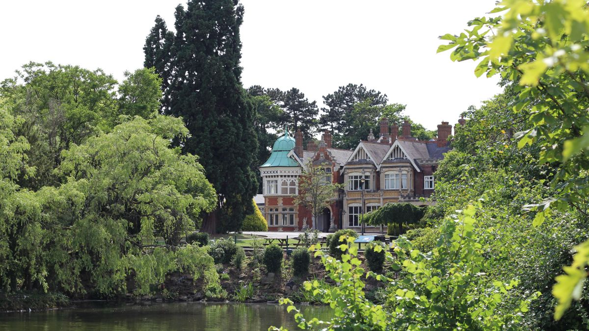 The mansion at Bletchley Park is only a small part of the codebreaking compound.