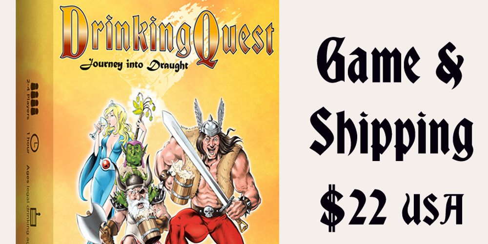 Kickstarter Tabletop Alert: 'Drinking Quest: Journey Into Draught'