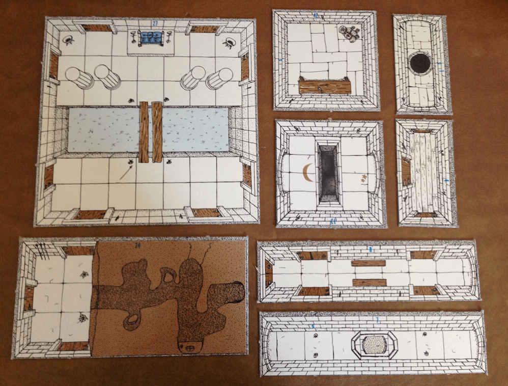 picture relating to Printable Dungeon Tiles Pdf known as Myth RPG 2D Terrain Products and solutions - Final Demonstrate - GeekDad