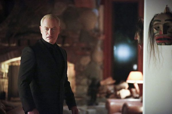 "Arrow -- ""Taken"" -- Image AR415A_0018b.jpg -- Pictured: Neal McDonough as Damien Darhk -- Photo: Bettina Strauss/ The CW -- �© 2016 The CW Network, LLC. All Rights Reserved."