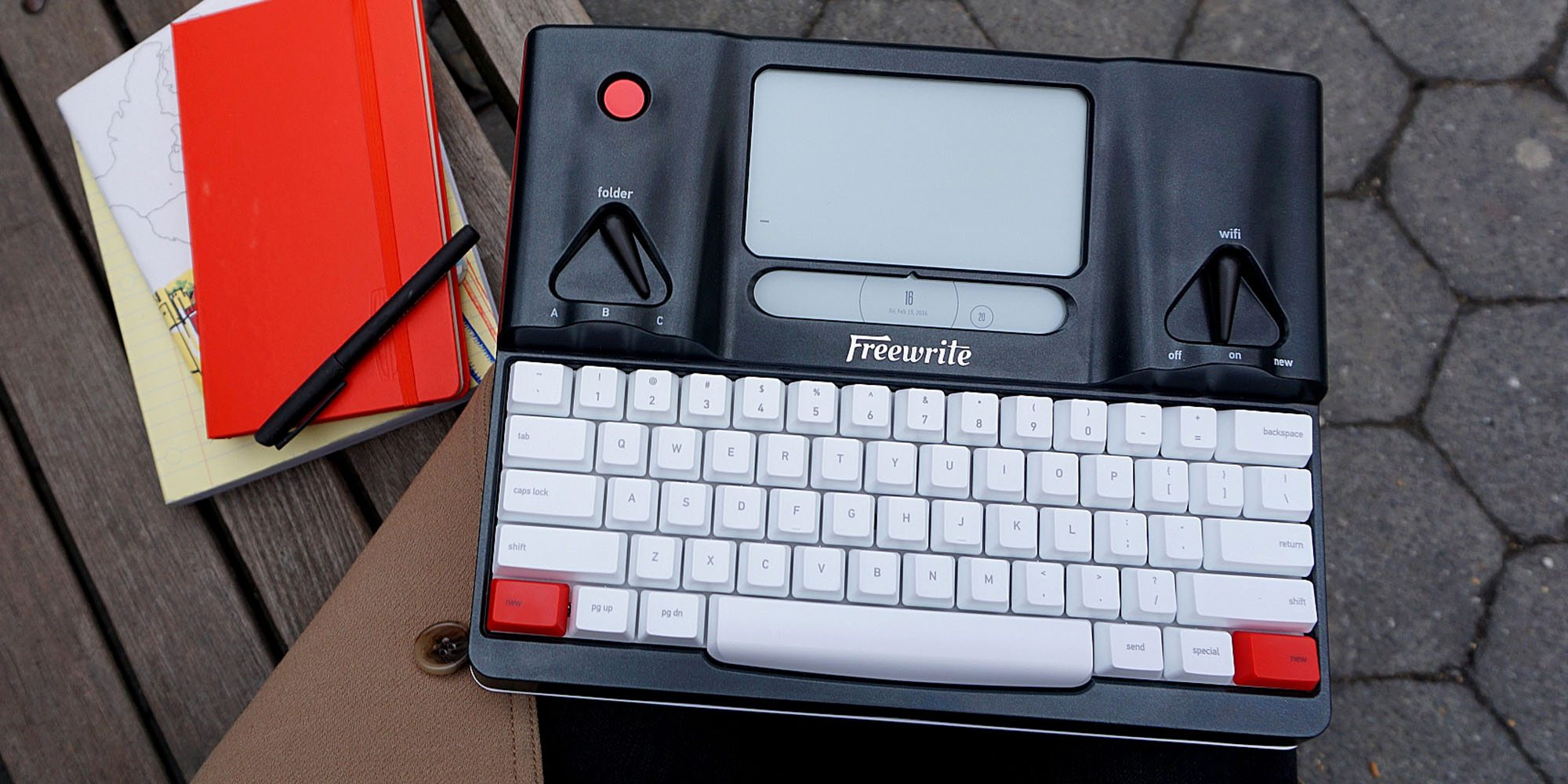 Freewrite (Formerly Hemingwrite) Now Available