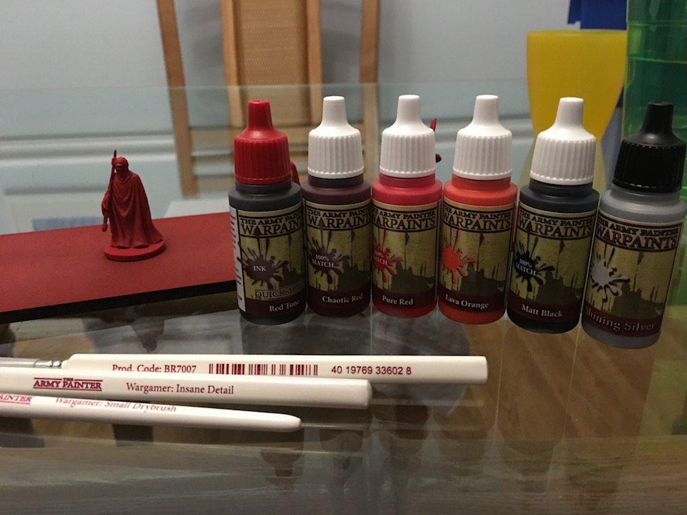 Royal Guard paint scheme (Photo by Anthony Karcz)