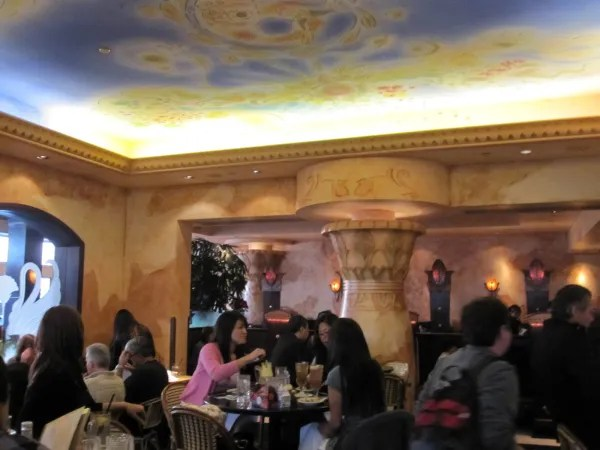 The real Pasadena Cheesecake Factory is a lot more swanky. Photo from The Happy Hour Tour.