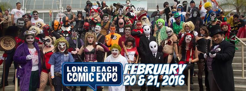 Long Beach Comic Expo Ticket Giveaway