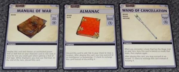 PACG Wrath 1 Items