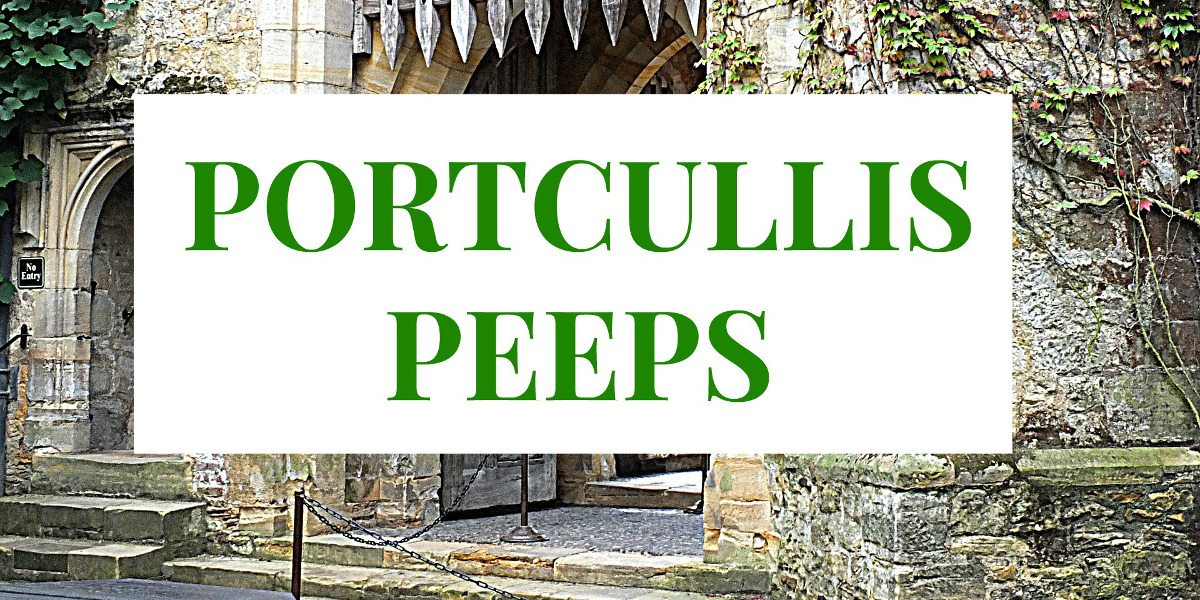 Portcullis Peeps: What They Are and How to Find Them