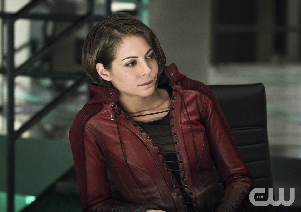 "Arrow -- ""A.W.O.L."" -- Image AR411A_0299b.jpg -- Pictured: Willa Holland as Thea Queen -- Photo: Liane Hentscher/ The CW -- �© 2016 The CW Network, LLC. All Rights Reserved."