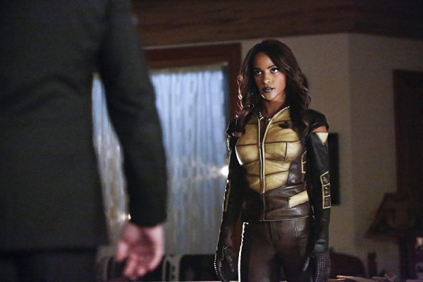 "Arrow -- ""Taken"" -- Image AR415A_0092b.jpg -- Pictured: Megalyn E.K. as Vixen -- Photo: Bettina Strauss/ The CW -- �© 2016 The CW Network, LLC. All Rights Reserved."