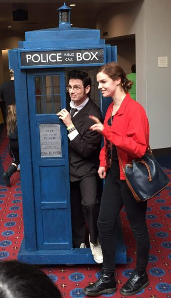 The Doctor and the TARDIS were spot on.
