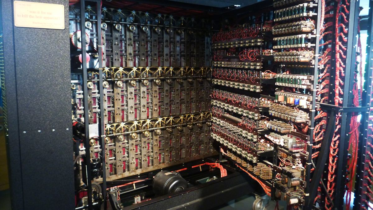 Inside the Bombe Machine