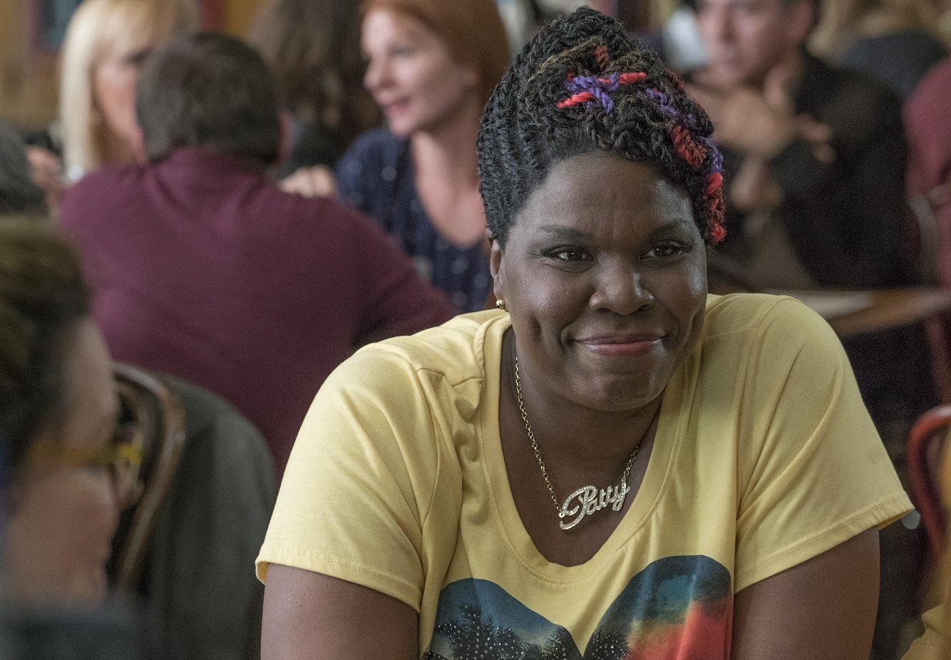 Patty (Leslie Jones) in Columbia Pictures' GHOSTBUSTERS.