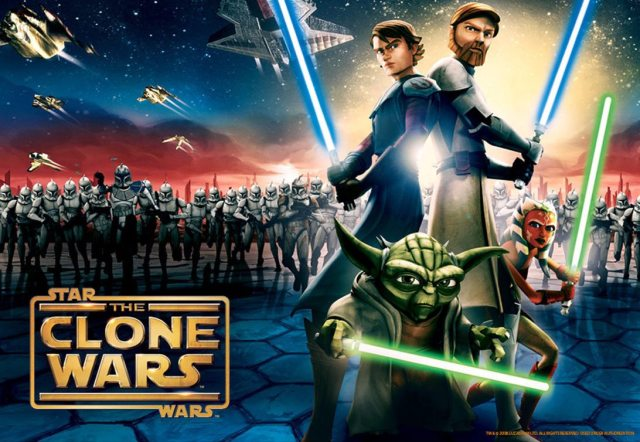 Star Wars: The Clone Wars can be watched on Netflix.