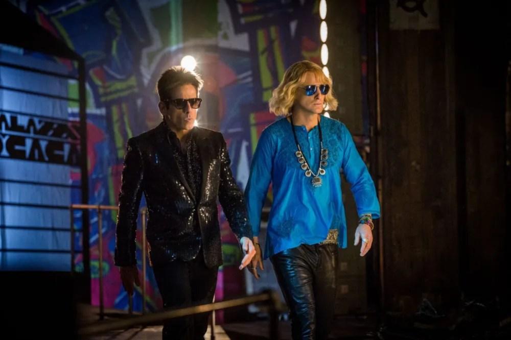 Zoolander (Ben Stiller) and Hansel (Owen Wilson) are back in action in 'Zoolander 2'. © 2015 Paramount