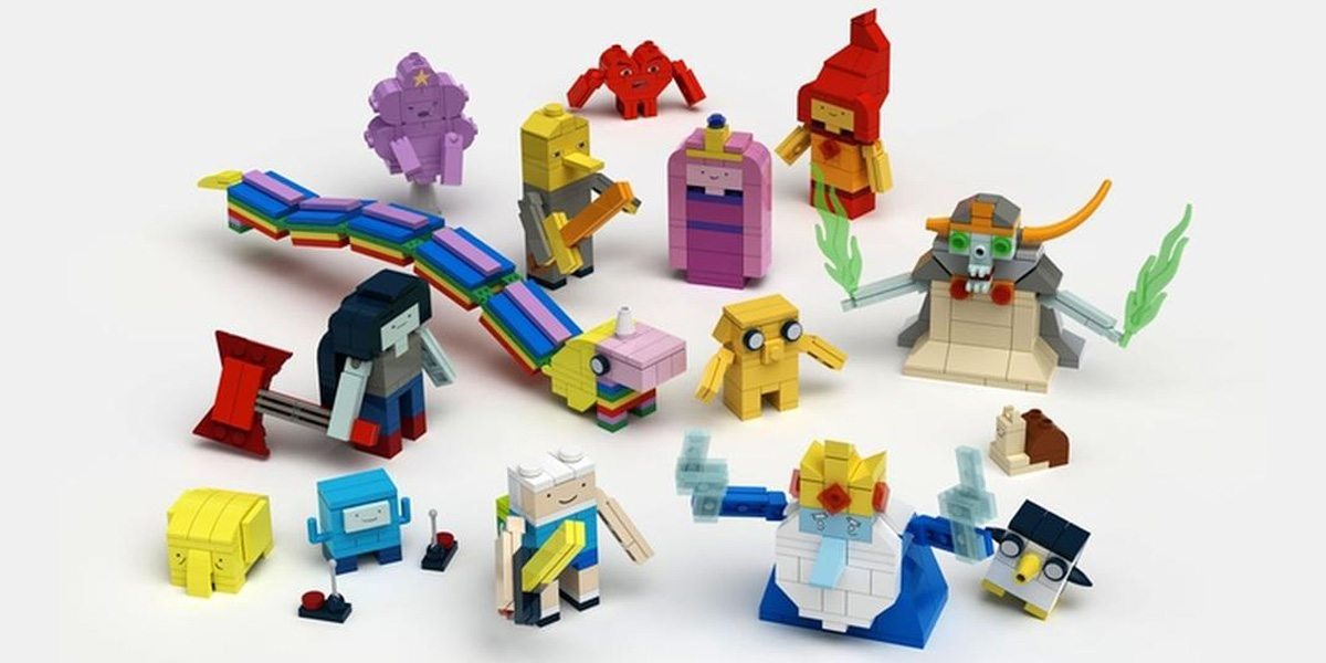 "Algebraic News! ""Adventure Time"" Coming to LEGO [Kinda]"