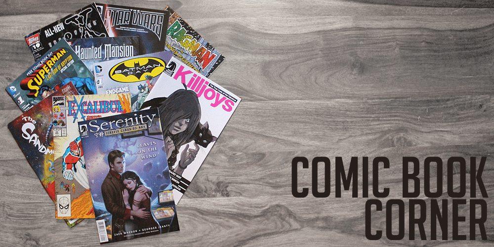 Comic Book Corner, Image: Sophie Brown