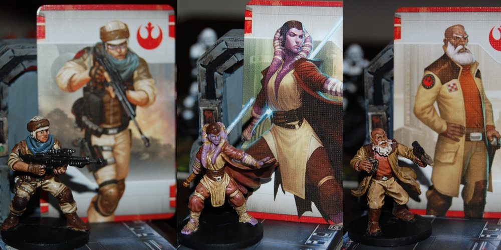 GeekDad Paints! 'Imperial Assault' Part 5 – Rebel Heroes