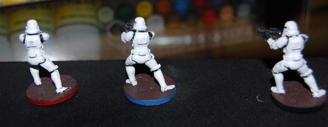 Imperial Assault Stormtroopers Finished Back