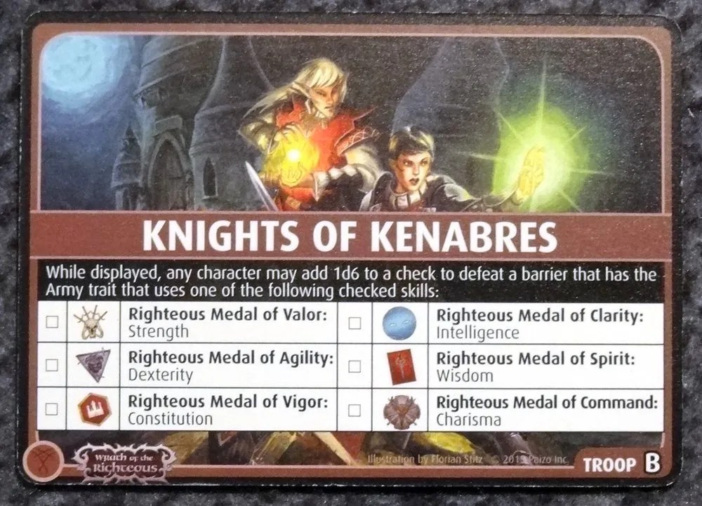 PACG Knights of Kenabres