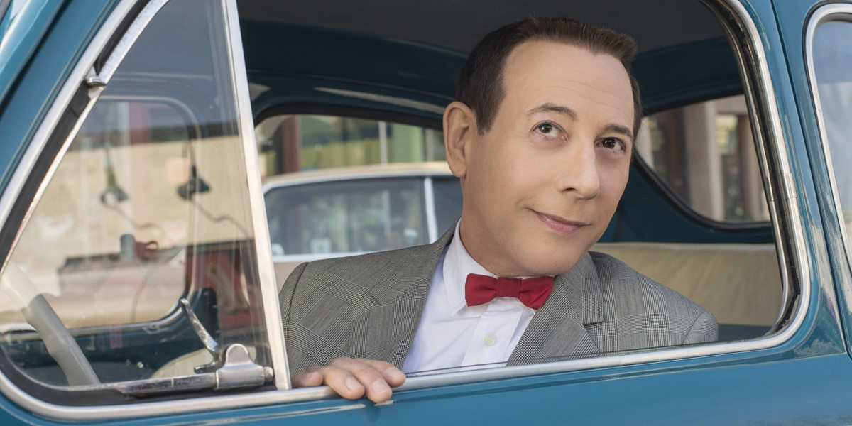 """Paul Reubens returns as his most famous character in """"Pee-Wee's Big Holiday."""" (Photo by Glen Wilson/Netflix)"""