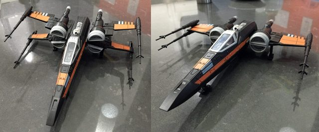 Revell X-Wing finished model