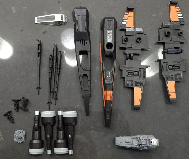 Revell X-Wing parts