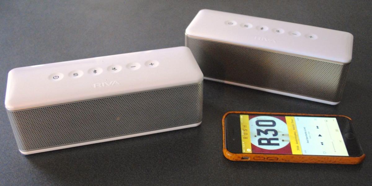 Riva S speakers support Truewireless stereo